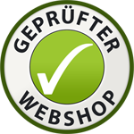 Geprüfter Webshop Siegel