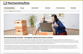 Nachsendeauftrag DE Online GmbH