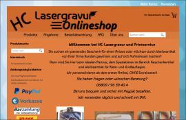 HC-Lasergravur