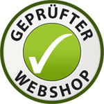 Geprьfter Webshop Siegel